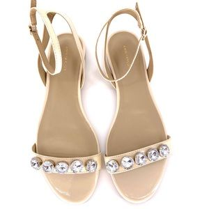 Ann Taylor cream sandal.